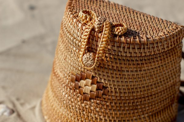 Rattan Backpack Hand Crafted in Vietnam